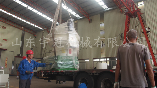 2017.9.24佳木斯颗粒机生产线发货