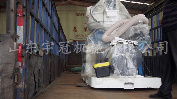 2017.10.17江苏常州450颗粒机发货