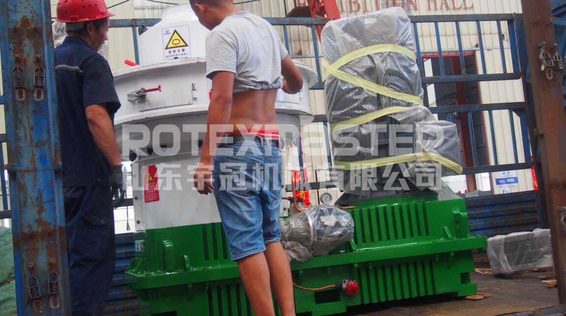 7月15日惠州560B颗粒机发货