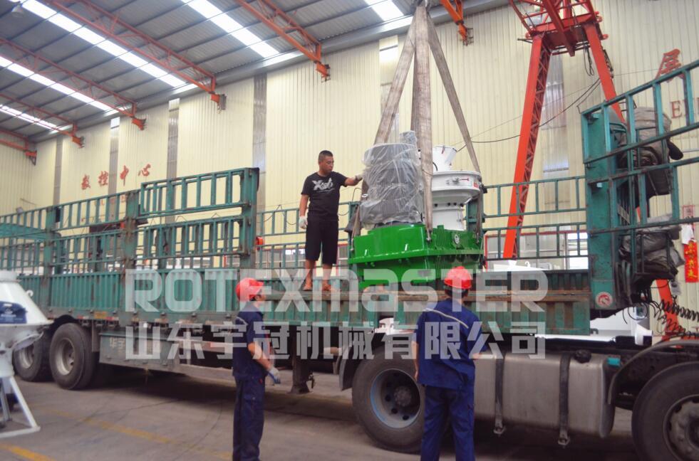 7月28日黑龙江560B颗粒机发货