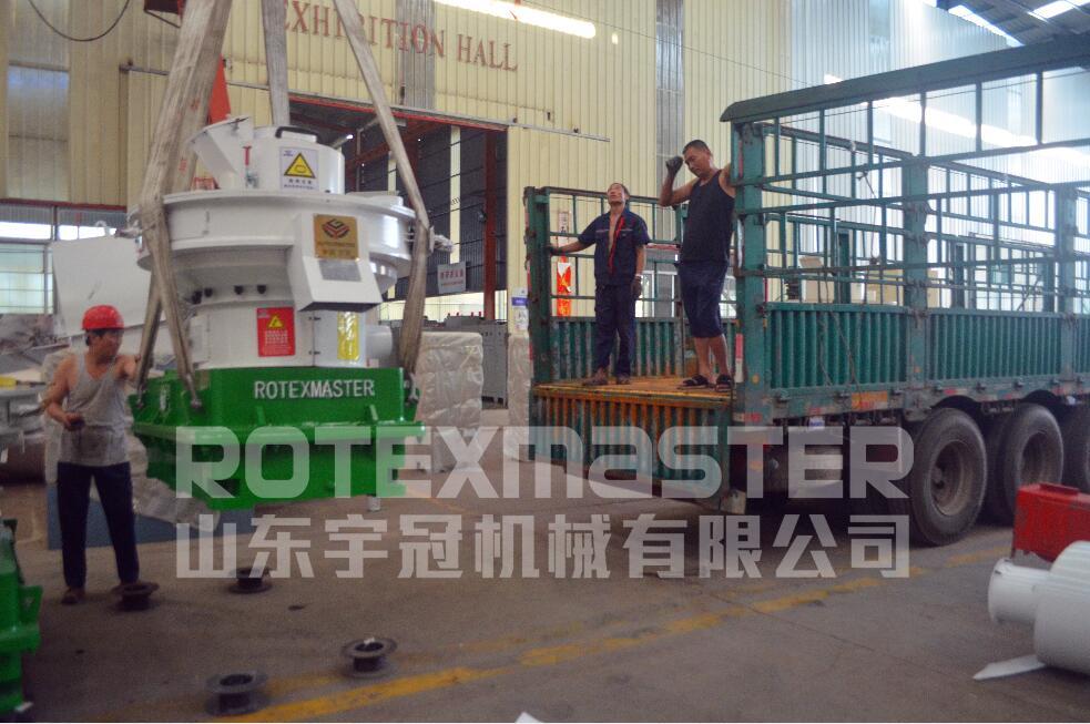 7月20日黑龙江6台560B发货