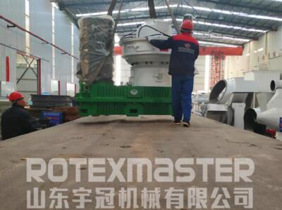 11月13日湖南时产3吨生产线发货