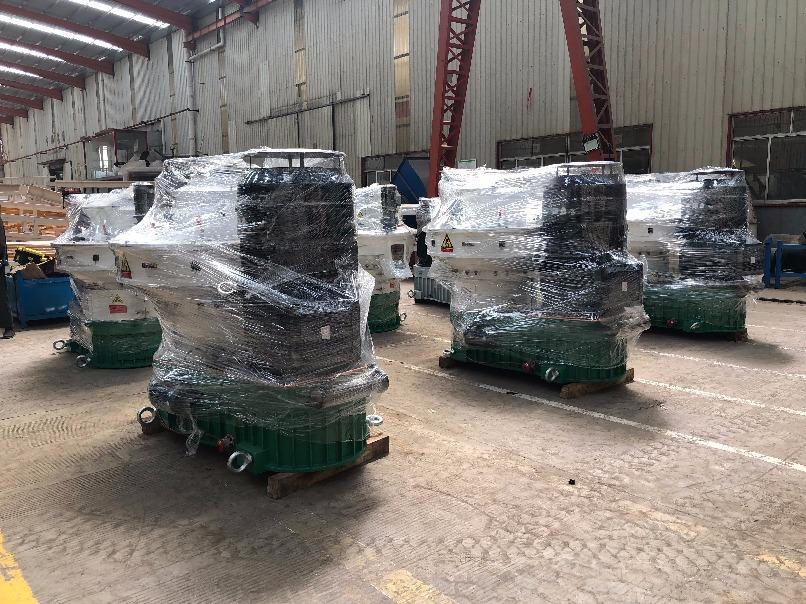 2020.8.2号发往黑龙江的5台560c颗粒机